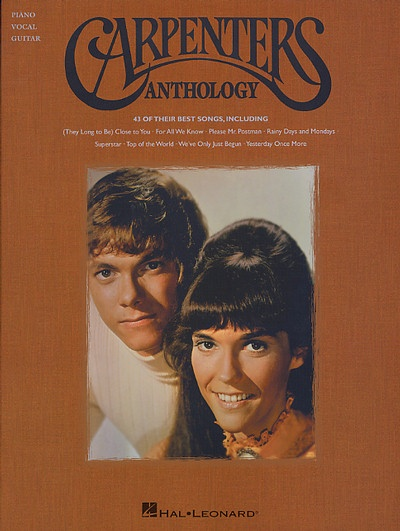 The Carpenters: Dust Jackets, The Carpenter, Books Jackets, Dust Wrappers, Time Goneworth, Hal Leonard, Sheet Music, Carpenter Antholog, Dust Covers