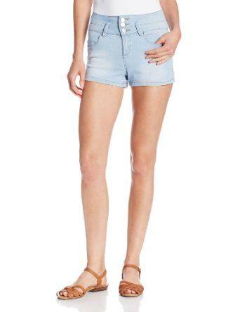 YMI Juniors Triple Button Highwaist Short from $29.99 by Amazon BESTSELLERS