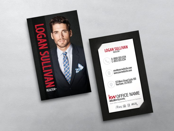 16 best new keller williams business card templates images on this keller williams business card is clean modern and professional if features your photo colourmoves