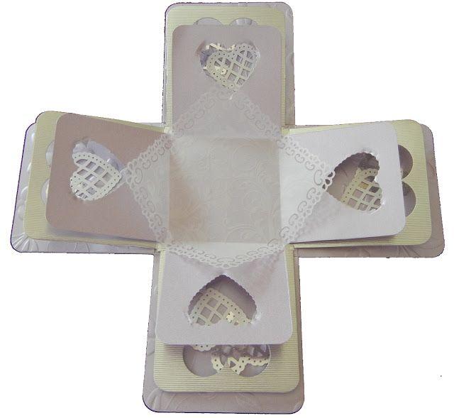Jinky's Crafts & Designs: Wedding & 18th Birthday Exploding Box Invitations
