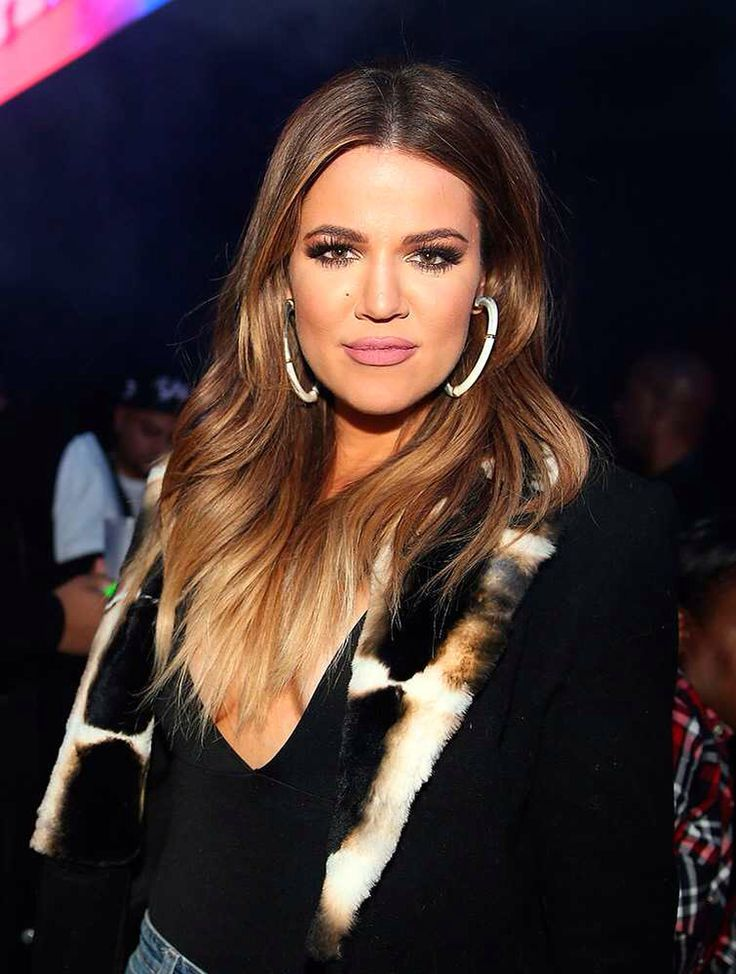 Khloé has played with highlights before but she's never gone this colour...