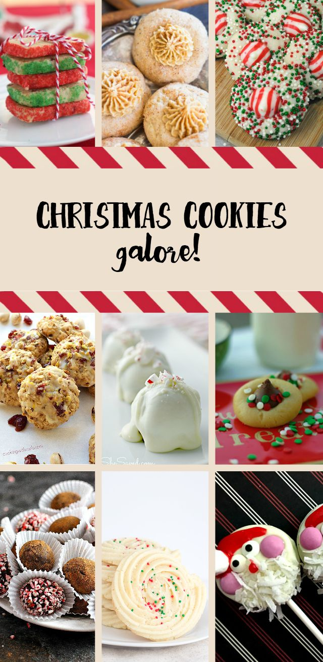 Woah! The best Christmas Cookie recipes in one big roundup! Delicious recipes your family and guests will love. Perfect for holiday parties! TablerPartyofTwo.com