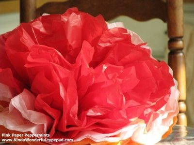 tissue paper flowers: Mexicans Tissue, Crepes Paper Flower, Flower Tutorials, Tissue Paper Flowers, Mexicans Paper Flower, Grad Parties, May 5, Tissue Flower, Crafty Flower