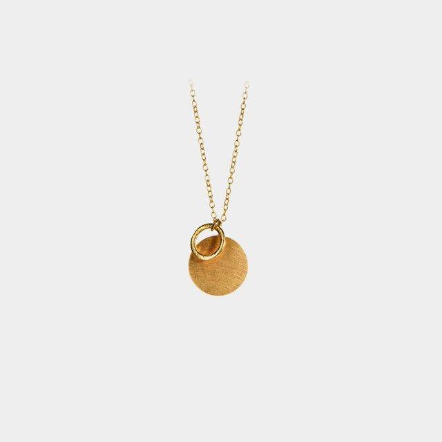 Coin&Circle necklace