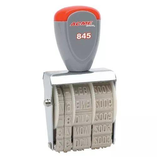 sello fechador lineal 5 mm 1 pzabar-sel-845 upc: 7501214901