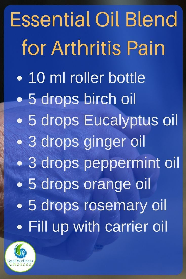 11 Best Essential Oils for Rheumatoid Arthritis Pain Relief!Total Wellness Choices | Natural Health & Living | Natural Remedies | Essential Oils