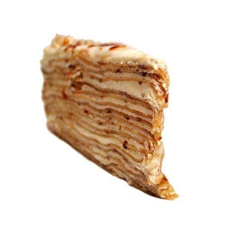Торт «Наполеон» с орехами рецепт с фото