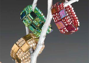 Perlenschmuck mit Tila-Beads