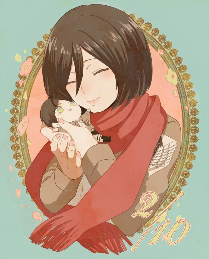 148 Best Images About Attack On Titan (Mikasa) On