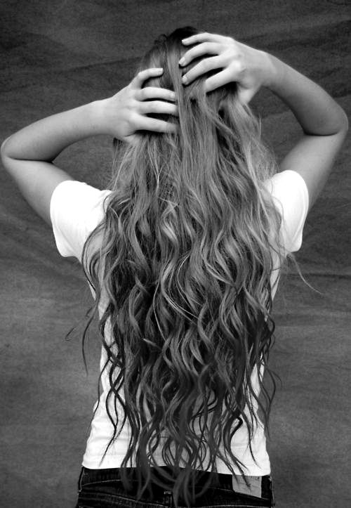 trying to grow my hair this long... (: