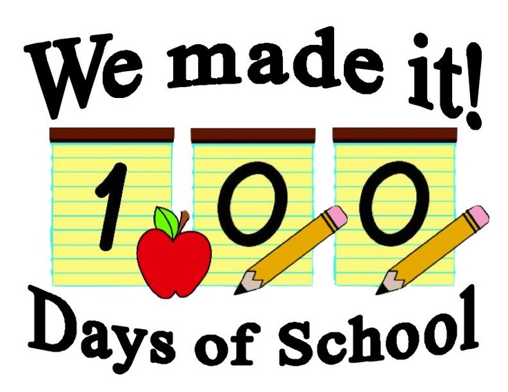 75 best 100th day of school images on pinterest 100th day of rh pinterest com 100 Days Smarter 100th day of school clipart black and white