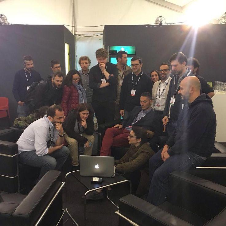 Il #wnf16 è finito. Nel backstage si continua a lavorare vi aspettiamo a Firenze a settembre! by wireditalia