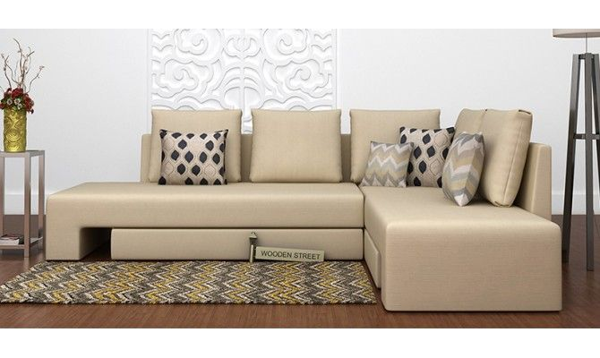 Get Great Deals on Mckellen l shape #corner #sofa #Ivory at WoodenStreet. Buy Wooden Furniture Online with ✓Elegant Designs ✓Free Shipping #sofacumbed #Kochi #Mumbai #Noida #Pune #Vishakhapatnam #sofaset #Ghaziabad #Goa #Gurgaon #Hyderabad #Jaipur #Bangalore #Chennai #sofas #Coimbatore #Delhi #Faridabad