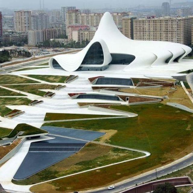 Heyder Aliyev Center Baku Azerbaijan Zaha Hadid Architecture Zaha Hadid Design Zaha Hadid Architects