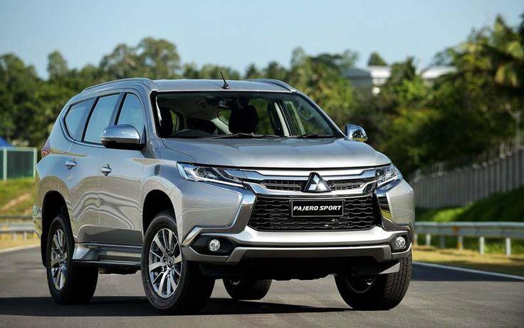 2017 Mitsubishi Pajero overview