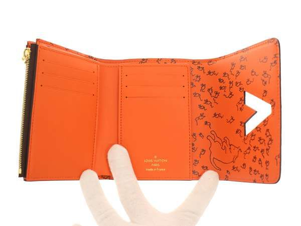 quality design 31129 dbd10 ルイヴィトン 財布 モノグラム キャットグラム ポルトフォイユ ...