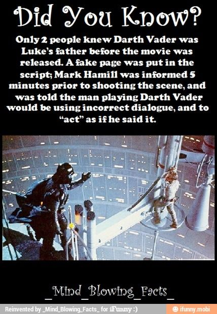 Mind blowing fact / iFunny :) | Funny :) | Star wars facts ...