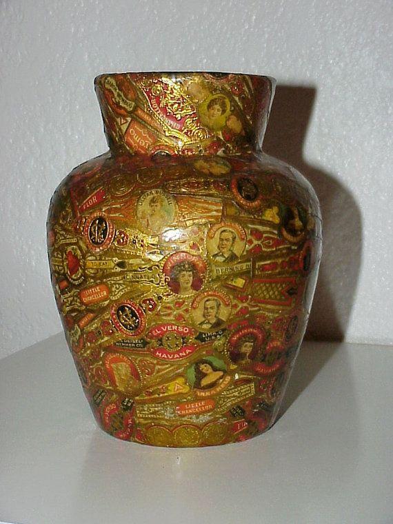On SaleVery OldCIGAR Label Art VASECigar by floraandflossies