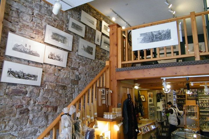 Riverguild Fine Crafts has the work of approximately 80 consignment artists, local and from other regions of Canada.