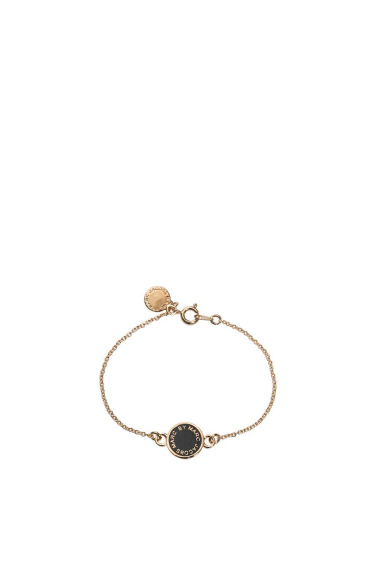 Armband Enamel Disc BLACK/GOLD - Marc by Marc Jacobs - Designers - Raglady