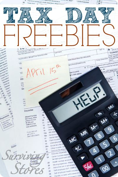 This year's HUGE list of Tax Day FREEbies for 2014!! Find deals and freebies for restaurants, retail stores, massages, ice cream, pizza, and more!