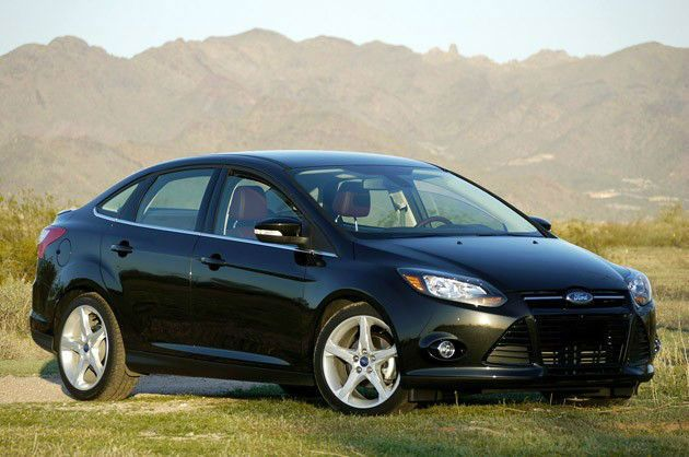"""2013 Ford Focus SE Sedan FLEX FUEL. These things, with just a few mods, are great """"sleepers""""."""