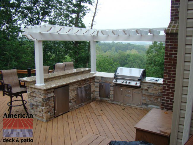 Outdoor kitchens with popular ideas and outdoor kitchens - Chimeneas para exteriores ...