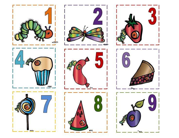 Caterpillars & Butterflies Theme: FREE Preschool Printables - The Very Hungry Caterpillar