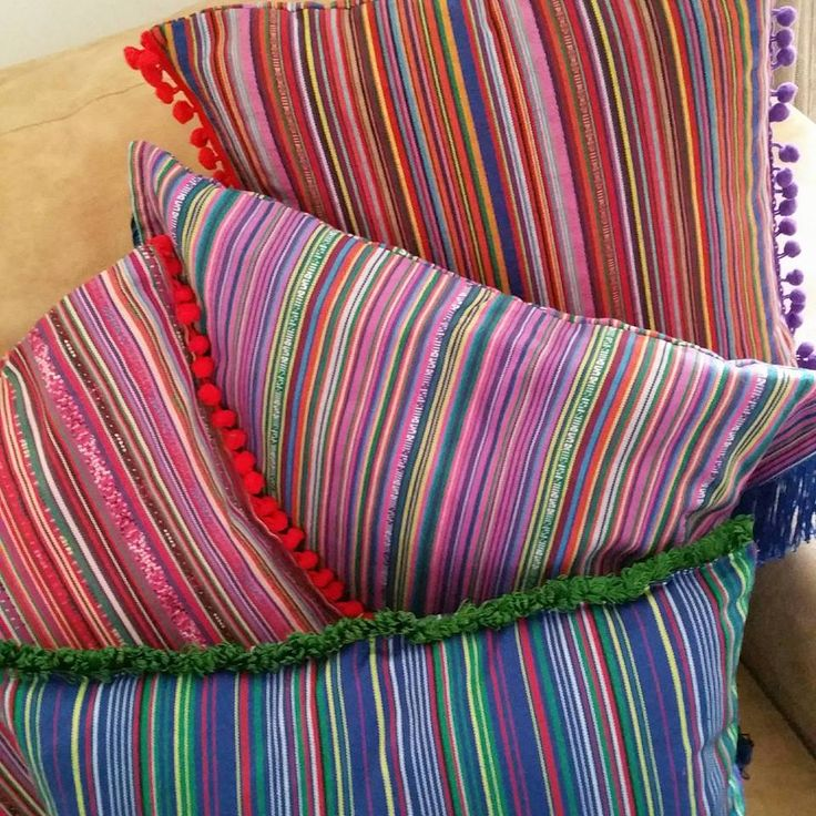 Our boho new pillows and throw  make your home colored https://www.facebook.com/LikeThingsDecoration/