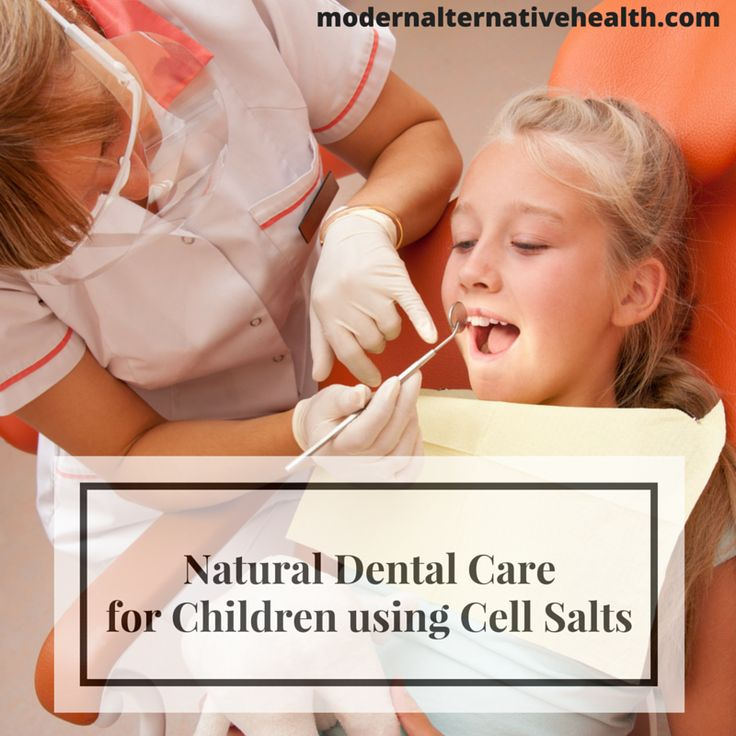 Natural remedies for dental care and your children. No need for toxic fluoride or the lies the dental industry tells you, learn the benefits of cell salts