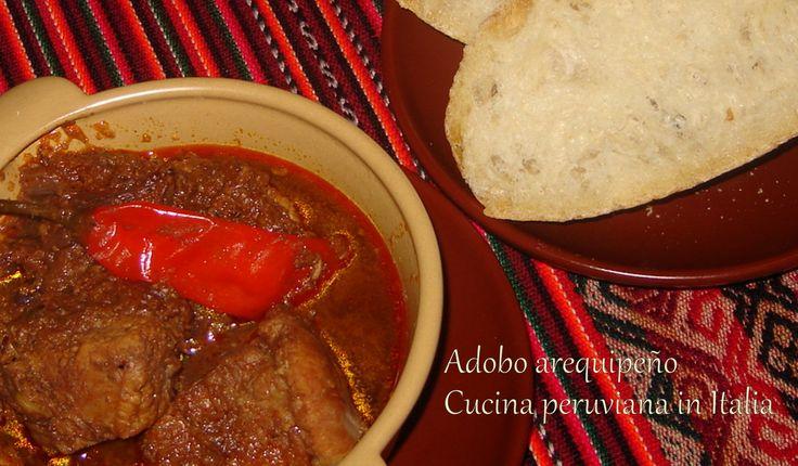 Cucina peruviana in Italia: Adobo arequipeño de chancho