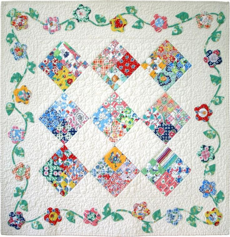Flossie's Four Patch Quilt Pattern
