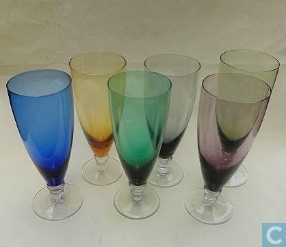 Glas / kristal - Glasfabriek Kristalunie Maastricht - carnavalsglas