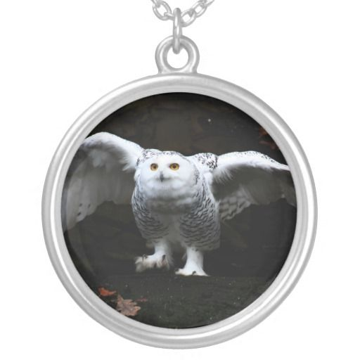 The Hunt - Snowy Owl Necklace