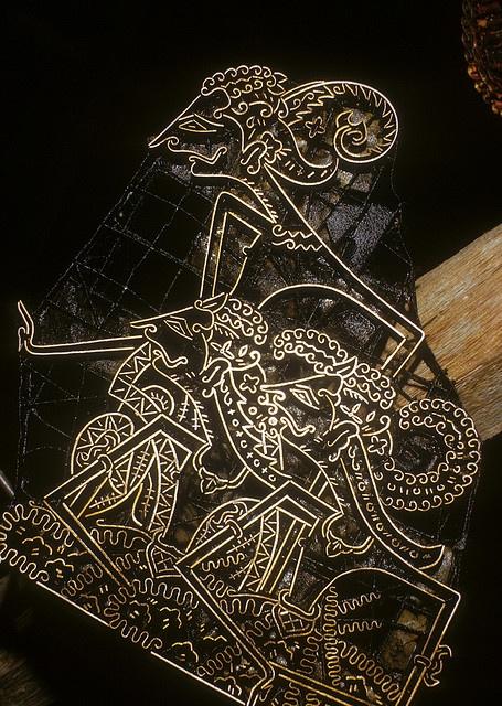 Batik wayang cap by judyrae67, via Flickr