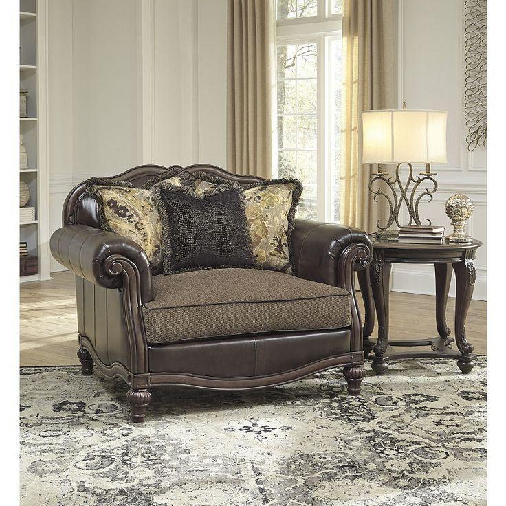 Best Signature Design By Ashley Winnsboro Chair And A Half 400 x 300