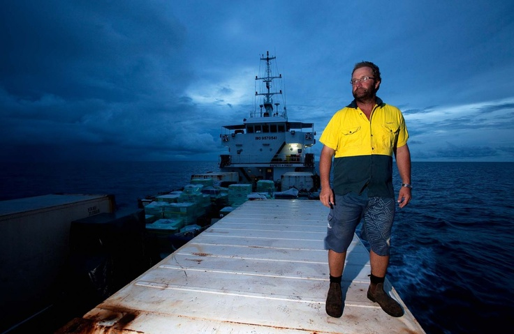 Coastal barges provide an essential service for Australia's remote northern outposts.