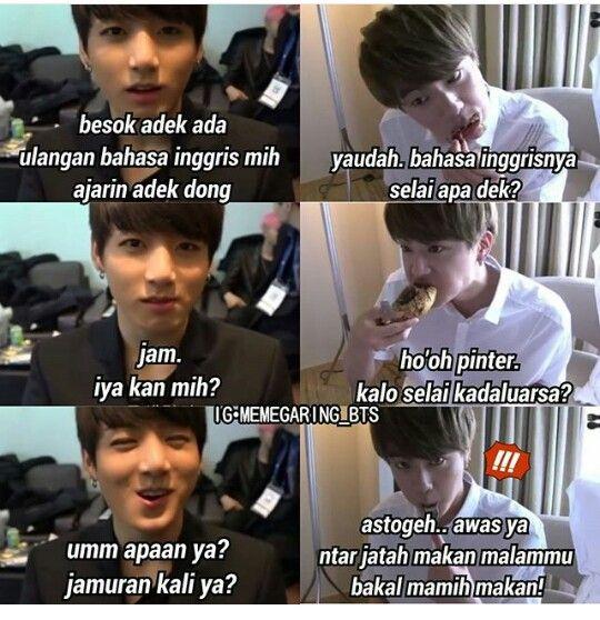 Iyaak jamuran kuki pintar sekaleeh  #Memes #Funny #Indonesia #BTS