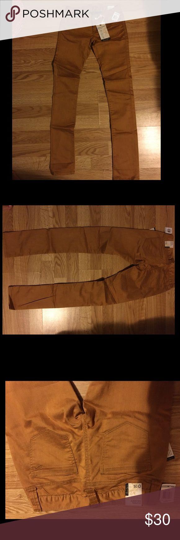 🆕 American rag jeans New American rag size 0R skinny jeans/pants, mustard color American Rag Jeans Skinny