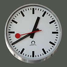 Hans Hilfiker (15 September 1901 – 2 March 1993) was a Swiss engineer and designer. In 1944, working for the Swiss Federal Railways, he designed the Swiss railway clock, which became a national icon.