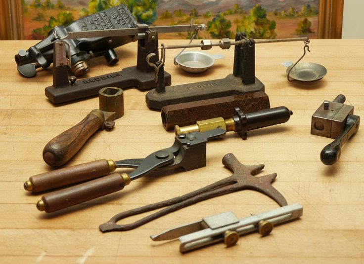 Vintage Estate Lot Gunsmith Tools Gunsmithing Reloading equipment Winchester