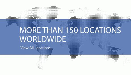 More than 150 locations worldwide. View all locations...