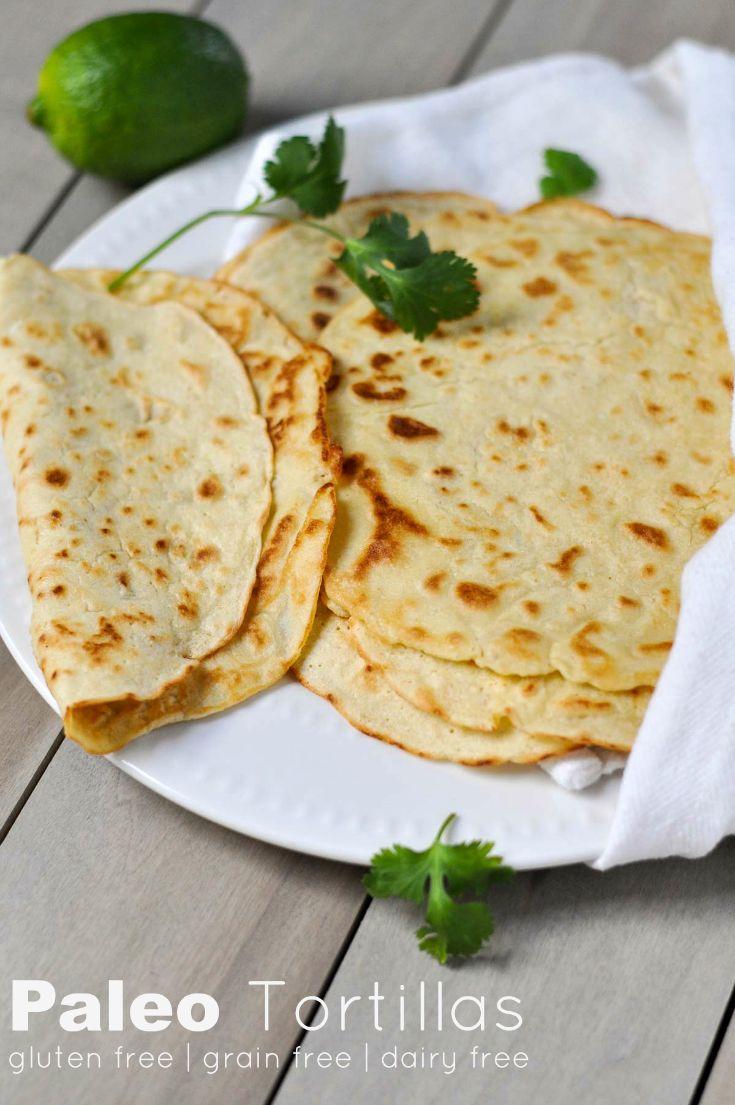 Paleo Tortillas | www.themodernbuttery.com
