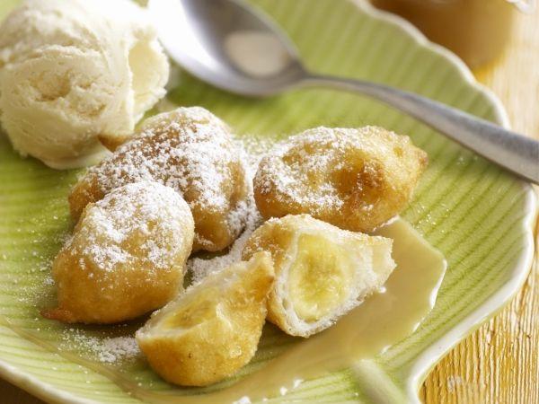 Bananenbeignets met butterscotch cream Eenmaal geproefd, wordt dit je favoriet! - Libelle Lekker!