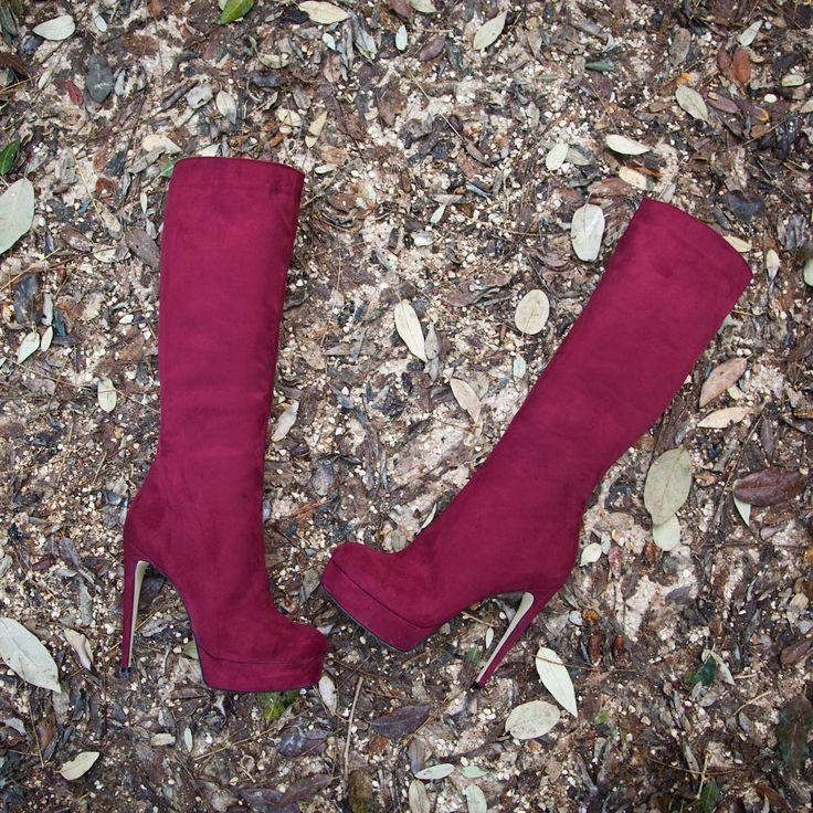 SANTE Knee Boots #santeXMAS #followSANTE #shopSANTE