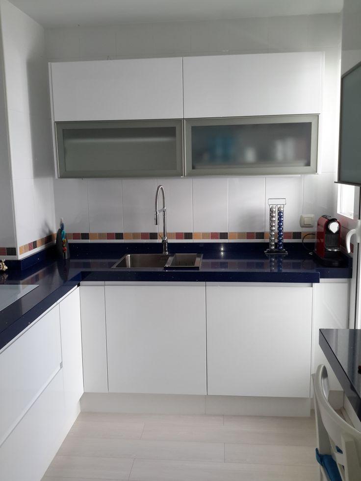 Cocina Silestone Azul Estelar – Gormondo.com