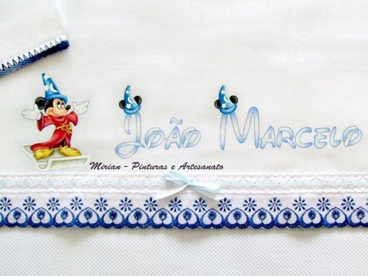 """Fralda de Passeio """"Disney Fantasia"""""""