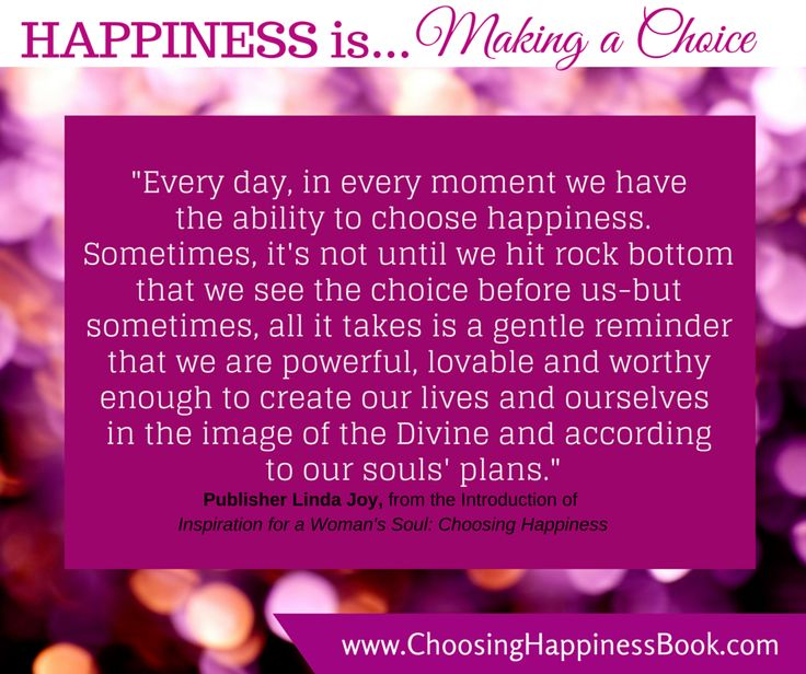 Day 90: Happiness is...a choice!
