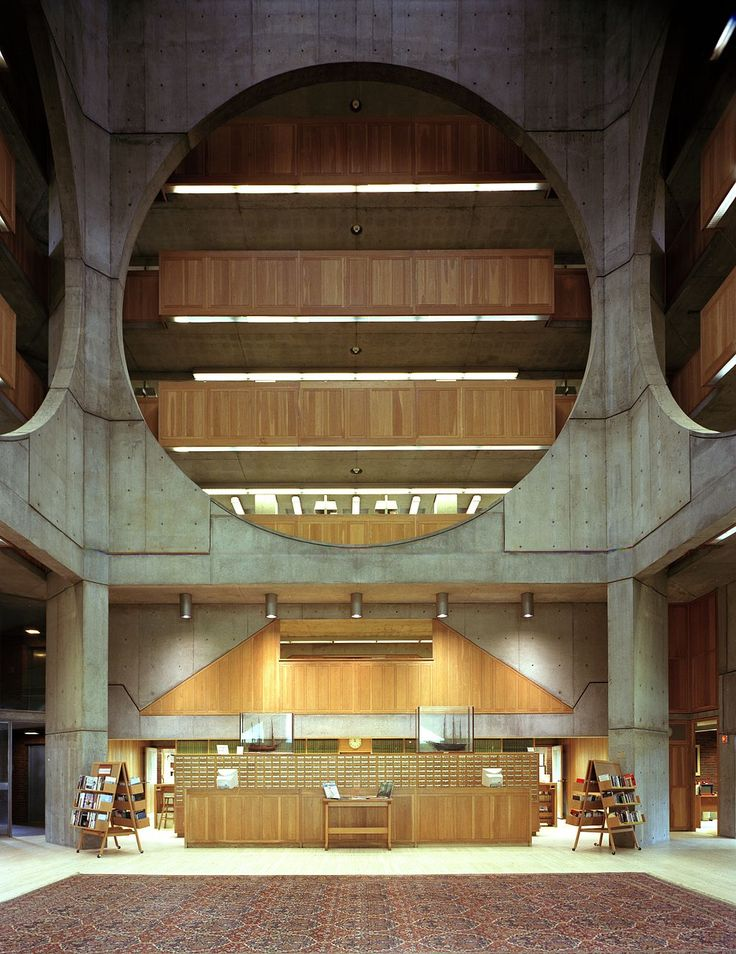 Phillips Exeter Library atrium Highsmith - Phillips Exeter Academy Library - Wikipedia, the free encyclopedia