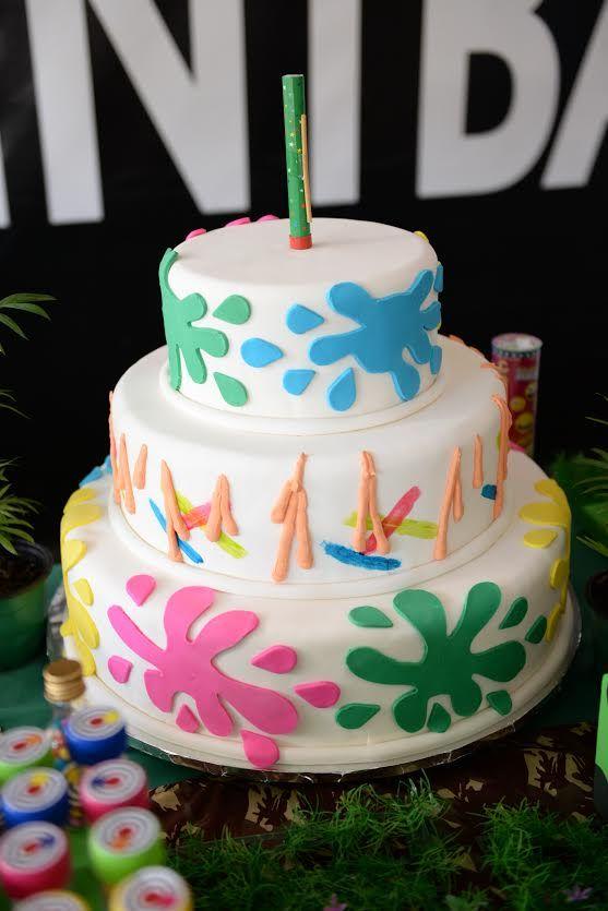 Uma festa teen para fugir dos clichês e garantir muita diversão entre os convidados… Recarregue as suas arma e prepare-se para a Festa de aniversário no Paintball!